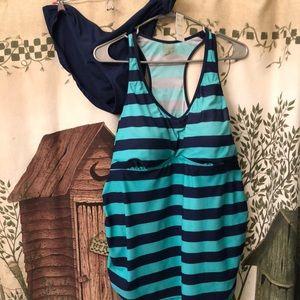 Motherhood maternity xl swim suit
